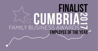 Cumbria Family Business Awards Finalist - 2017 - Employee of the Year
